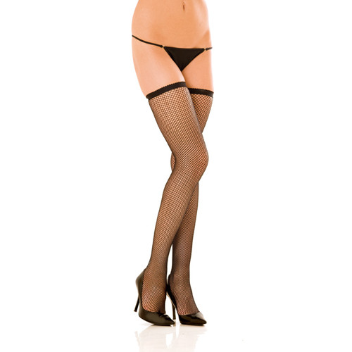 Fishnet thigh high(One Size (S-L 34 - 40))